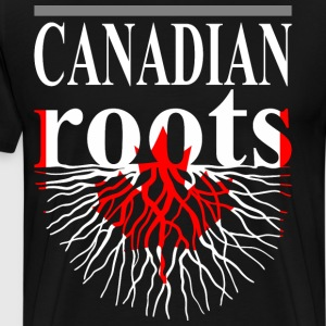 Canadian Roots Tshirt - Men's Premium T-Shirt
