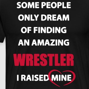 Moms Favorite Wrestler Shirt - Men's Premium T-Shirt