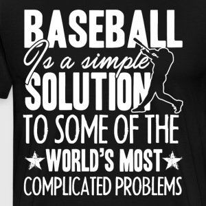 Simple Solution Baseball Shirt - Men's Premium T-Shirt