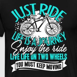 Love Bicycle Shirt - Men's Premium T-Shirt
