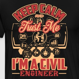 I'm A Civil Engineer Shirt - Men's Premium T-Shirt