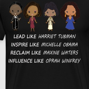 Lead like Harriet Tubman - Men's Premium T-Shirt
