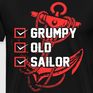 grumpy old sailor t-shirts - Men's Premium T-Shirt