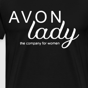 avon lady the company for women t-shirts - Men's Premium T-Shirt