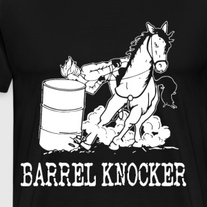 barrel knocker t-shirts - Men's Premium T-Shirt