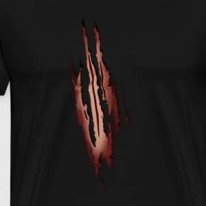 Werewolf Attack - Men's Premium T-Shirt