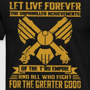 Let live forever the unparalled achievements of th - Men's Premium T-Shirt