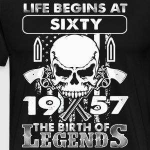 1957 the birth of Legends shirt - Men's Premium T-Shirt