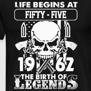 1962 the birth of Legends - Men's Premium T-Shirt