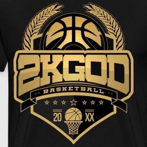 I AM A 2KGOD - Men's Premium T-Shirt