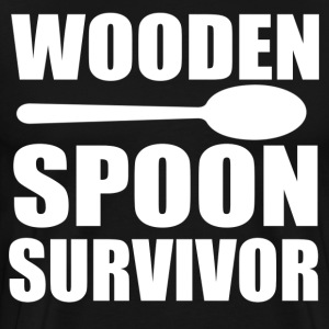 Wooden Spoon Survivor Shirt - Men's Premium T-Shirt
