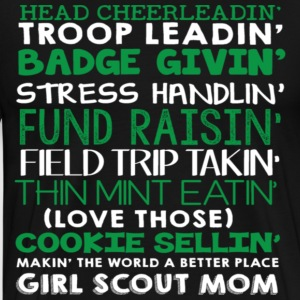 Head cheerleadin troop leadin badge handlin fund r - Men's Premium T-Shirt