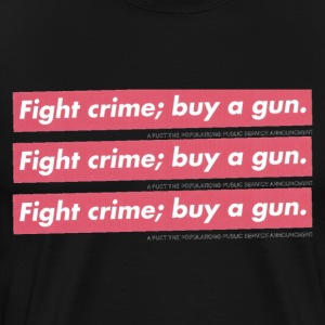 Fight Crime - Men's Premium T-Shirt