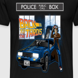 Tardis Dr. Who - Men's Premium T-Shirt