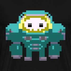 Lets Read Pixel Art :D - Men's Premium T-Shirt
