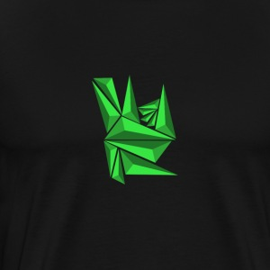 Green Neo Shards - Men's Premium T-Shirt