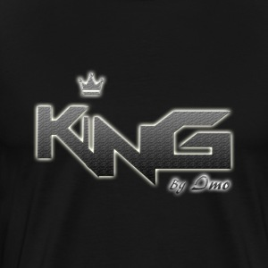 king logo v4 - Men's Premium T-Shirt