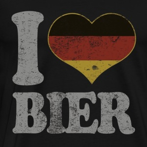 Oktoberfest Germany Drinking Beer - Men's Premium T-Shirt