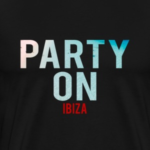 Party on Ibiza Beach-Party-Holiday-Summer - Men's Premium T-Shirt