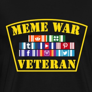 Meme War Veteran - Men's Premium T-Shirt