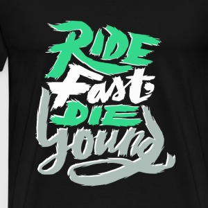 FoT EM Ride Fast - Men's Premium T-Shirt