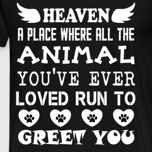 All The Animal You've Ever Loved T Shirt - Men's Premium T-Shirt