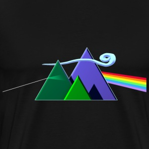 Dark Side Of The Mountains - Men's Premium T-Shirt