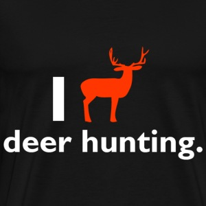Love hunting - Men's Premium T-Shirt