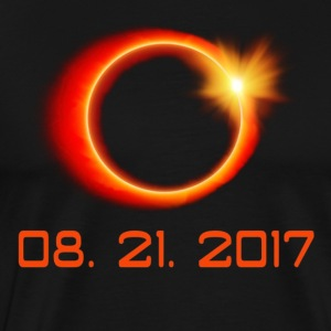 Total Solar Eclipse Summer August 21st 2017 - Men's Premium T-Shirt