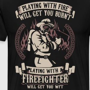 Fire Fighter - Men's Premium T-Shirt