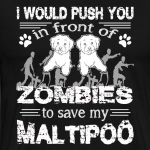 Save My Maltipoo Shirt - Men's Premium T-Shirt