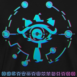 Sheikah eye - Save the princess - Men's Premium T-Shirt