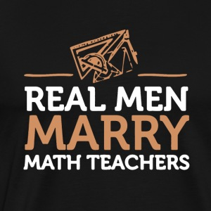 Math Teacher Tee Shirt - Men's Premium T-Shirt