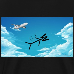 Skydiving W - Men's Premium T-Shirt