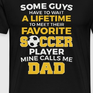 Father s Day Shirt 2017 Funny Soccer - Men's Premium T-Shirt