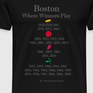 wherewinnersplayboston - Men's Premium T-Shirt