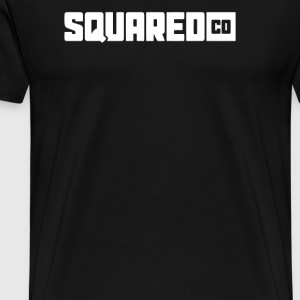 SquaredCo White Type T Shirt - Men's Premium T-Shirt