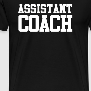 Coach Assistant - Men's Premium T-Shirt