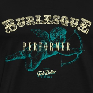 Burlesque Performer blue - Men's Premium T-Shirt