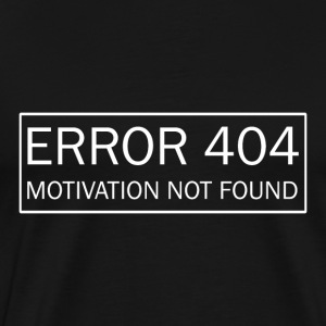 Error 404 - Men's Premium T-Shirt