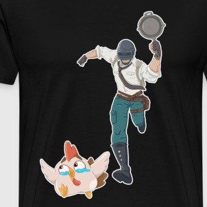 Chasing the Chicken Dinner - Men's Premium T-Shirt