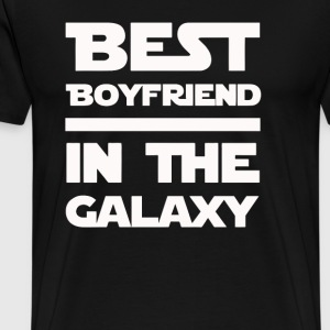 Best Boyfriend in the galaxy - Men's Premium T-Shirt