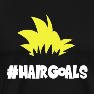 #HairGoals - Men's Premium T-Shirt
