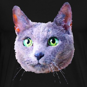 Russian Blue Cat Shirt - Men's Premium T-Shirt