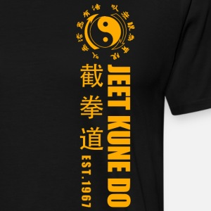 jeet kune do EST 1967 martial arts Yellow