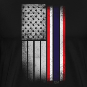 Thai American Flag - Men's Premium T-Shirt