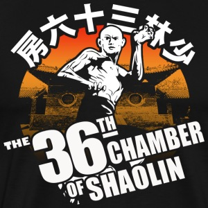 THE 36th CHAMBER OF SHAOLIN Classic Kungfu Movie - Men's Premium T-Shirt