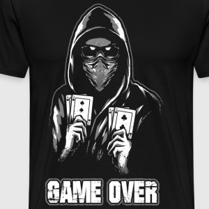 ACAB - Game Over - Men's Premium T-Shirt