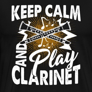 Clarinet Tee Shirt - Men's Premium T-Shirt