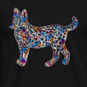 Savannah Cat Tee Shirt - Men's Premium T-Shirt
